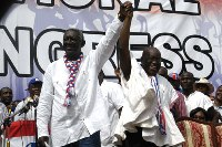 Ex-Presdent Kufuor raises Political white flag: Nana Addo is the Winner!
