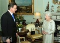 The Queen endorses David Cameron as Prime Minister