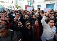 Photo Reporting: The Faces of the Tunisian Protests