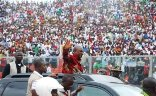 JusticeGhana Johnmahama in Kumasi