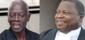 The EC: Dr Kwadwo Afari-Gyan & Counsel Philip Addison