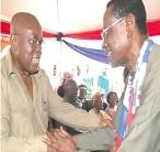 The 2012 NPP Flagbearer- Nana Akufo-Addo & NDC National Chairman Dr Kwabena Agyei