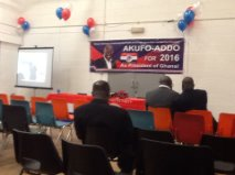 Photo Reporting: Akufo-Addo for 2016 Campaingn Launch in London