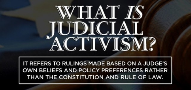 A Plea For Judicial Activism The Lost Honour