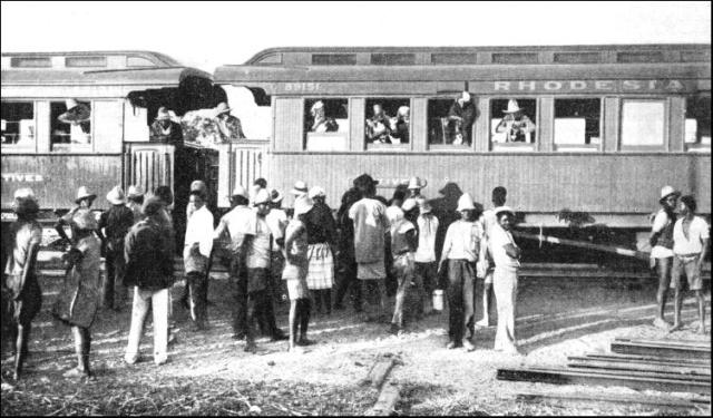 Photo Reporting- The Train from Rhodesia