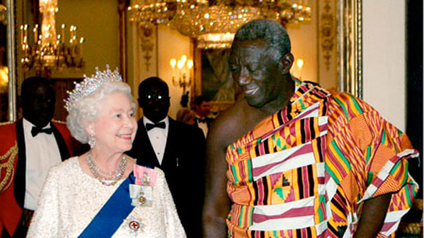 Photo Reporting- J.A. Kufuor & The British Monarchy