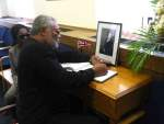 Photo Reporting: Rawlings, Nana Konadu Sign Thatcher Book of Condolence