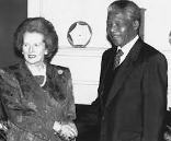 Photo Reporting: Margaret Thatcher & Nelson Mandela