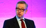 Michael Gove promised to institute a new approval process to halve the time taken to place a child with an adoptive family. Photograph: Jonathan Brady/PA