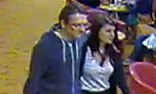 A CCTV image shows Jeremy Forrest and Megan Stammers on board a Dover-to-Calais ferry. Photograph: AFP/Getty Images