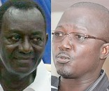 Dr Kwame Addo Kufuor and Kobby Fiagbe