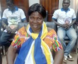 Madam Akua Donkor, standard bearer of the Ghana Freedom Party (GFP)