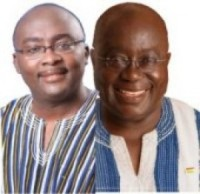 Photo Reporting: Dr Bawumia & Nana Addo