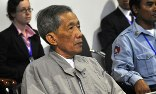 Former Khmer Rouge prison chief Kaing Guek Eav is the only person so far convicted by the Extraordinary Chambers in the Courts of Cambodia. Photograph: Ho/AFP/Getty Images