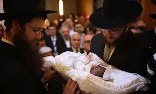 Male circumcision is almost the only ritual that both progressive and ultra-Orthodox Jews, so often at each other's throats, agree on, writes Tanya Gold. Photograph: Sean Gallup/Getty Images