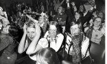 Fans of Bay City Rollers at a concert In 1975. Photograph: J Sherbourne / Daily Mail / Rex