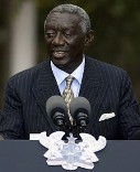 Photo Reporting: Ex-President J.A. Kufuor