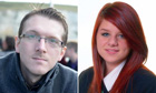 The missing schoolgirl Megan Stammers and her teacher Jeremy Forrest