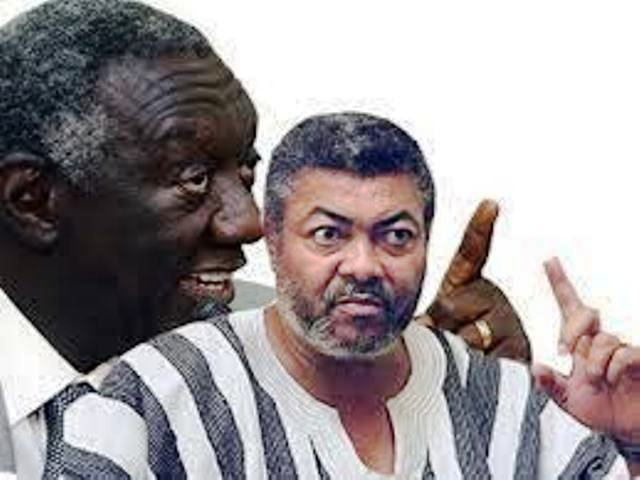 J.A. Kufuor and J.J. Rawlings