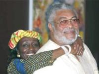 Photo Reporting: JJ Rawlings & Nana Konadu