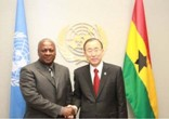 President Mahama and Ban Ki-Moon