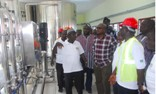 Vice President John Mahama commissions a sheanut processing factory in Buipe