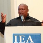 Photo Reporting: Prez John Mahama @ IEA 2012