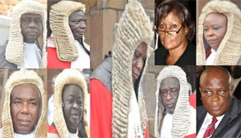 Photo Reporting: Justices of Supreme Court of Ghana