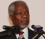 The Chairman of the African Green Revolution Forum (AGRF), Dr Kofi Annan