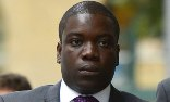 Kweku Adoboli arrives at Southwark crown court. Photograph: Leon Neal/AFP/Getty Images