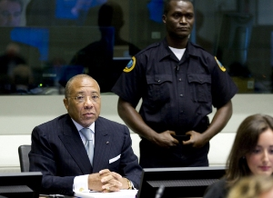 Photo Reporting: Ex-President Charles Taylor/pictured by AP/Getty
