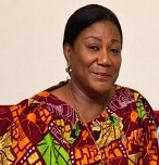 Mrs Rebecca Akufo-Addo, wife of the New Patriotic Party's (NPP) presidential aspirant