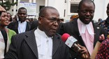 Nana Ato Dadzie (left) and Kojogah Adawudu are lawyers for the NDC