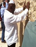 Photo Reporting: Nana Akufo-Addo at the Wailing Wall in Israel