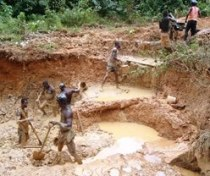 The brutal impact that illegal mining