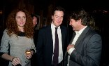 Rebekah and Charlie Brooks, pictured with George Osborne at the Mayfair club Tramp/Photograph: Dafydd Jones
