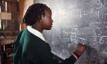 A maths lesson at a school for Kenyan refugees at the Burnt Forest/Photograph: Friedrich Stark/Alamy